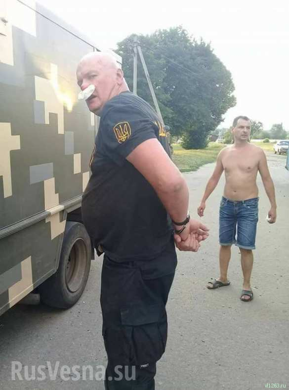 Украинская полиция жестоко избила и разогнала «атошников» (ФОТО, ВИДЕО 18+) | Русская весна