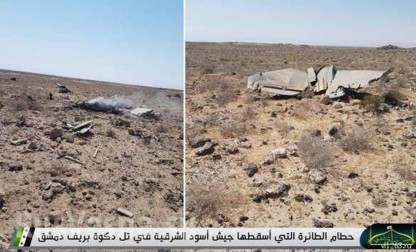 МОЛНИЯ: Боевики США сбили истребитель МиГ-21 в Сирии(ФОТО 18+) | Русская весна