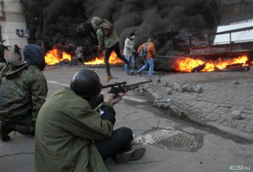 Фаза жесткого противостояния между властью и оппозицией в Украине, начавшаяся 21 января, после недолгого перемирия возобновилась 18 февраля с удвоенной силой.