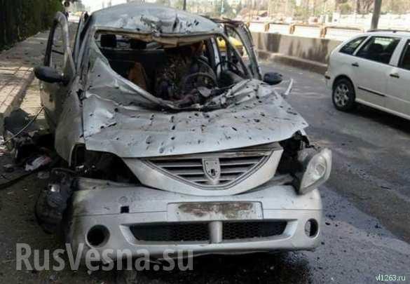 СРОЧНО: Боевики атаковали Дамаск, под огонь попал район дислокации российских военных (+ФОТО, ВИДЕО) | Русская весна
