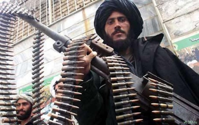 Вооруженный террорист. Афганистан