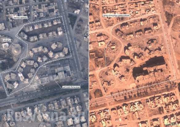 Ад в Ракке: ВКС России облетели и показали город, «спасённый» коалицией США (ФОТО) | Русская весна