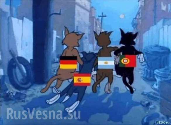 «Нога Кремля»: как в Интернете отреагировали на победу России над Испанией (ФОТО) | Русская весна