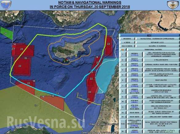 СРОЧНО: ВМФ России закрывает район восточного Средиземноморья (КАРТА) | Русская весна