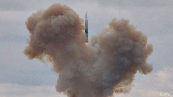 Минобороны в присутствии Путина провело пуск ракеты «Авангард»