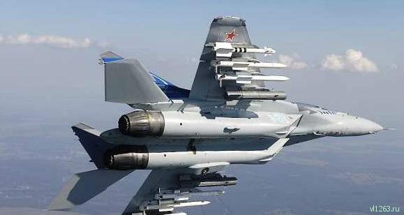 Минобороны показало полёты новейших истребителей МиГ-35 (ВИДЕО)